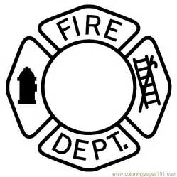 pin fireman hat coloring pages