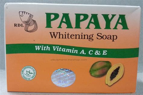 Rdl Papaya rdl papaya whitening soap สบ มะละกอ 135กร ม