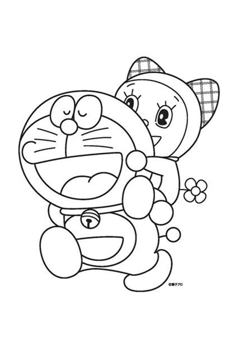 dora emon coloring page 6 kids coloring pages doraemon print color craft