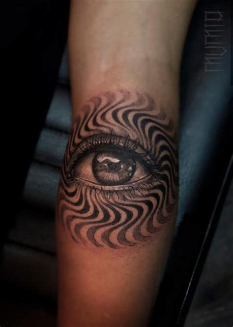 third eye tattoos hypnoze eye by mumia best ideas gallery
