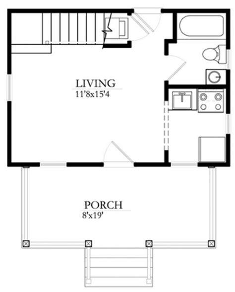 plano de habitacion plano de casa peque 241 a de una habitaci 243 n y 1 ba 241 o