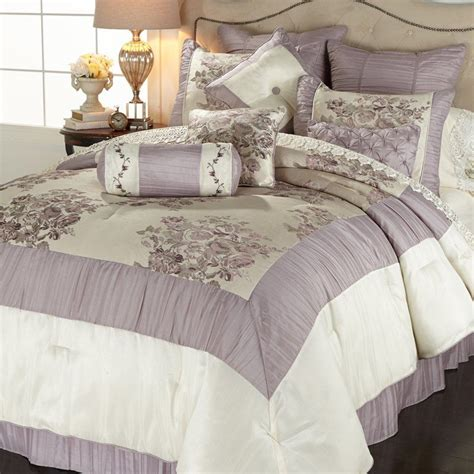 highgate manor bedding highgate manor spring garden 10 piece comforter set lavender queen ebay
