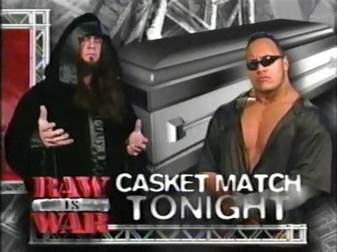 reverse wrestling wwf the rock the undertaker vs stone undertaker images the undertaker vs the rock casket match