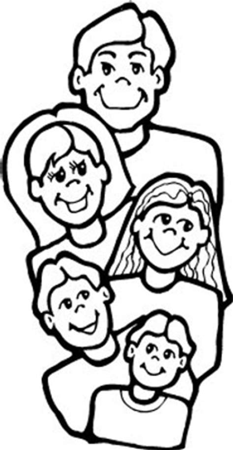 Young Family Coloring Page Coloring Pages Family Coloring Page