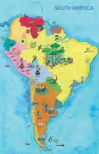 south america attractions map unit 4 south america mrs stoddart s class