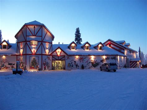 Santa Claus In House by Santa Claus House Alaska Tripomatic