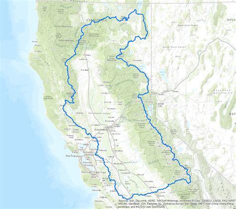 california map san joaquin river state water resources board