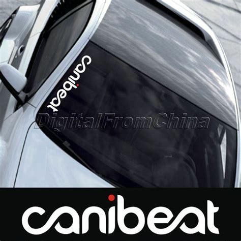 reflective funny hellaflush canibeat car front windshield