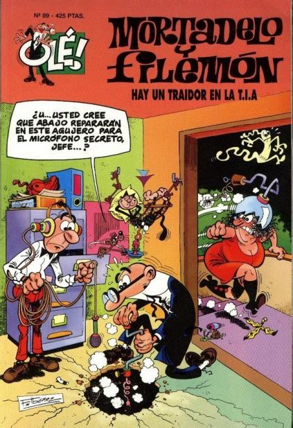ole mortadelo y filemon 8466647139 mortadelo y filemon 1993 b ole 89 ficha de n 250 mero en tebeosfera