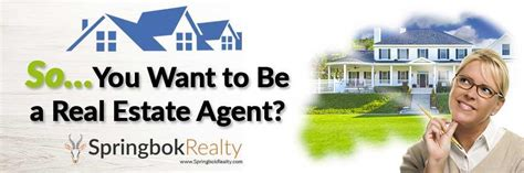 i want to be a realtor so you want to be a real estate agent