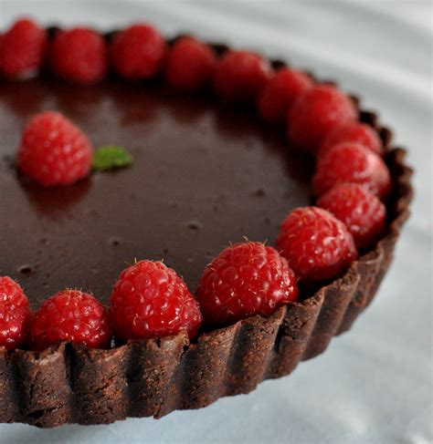 chocolate raspberry tart double chocolate tart pie recipes pie crust tips