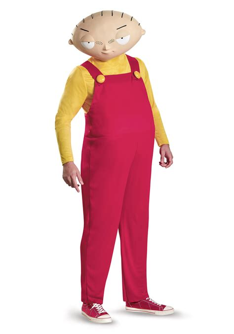 halloween costumes stewie griffin deluxe adult costume