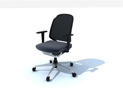 The Office Chair Model by 3d Medapal Vitra Office Chair Model