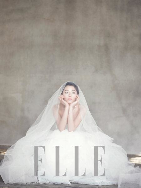 picture   jeon ji hyuns wedding pictorial