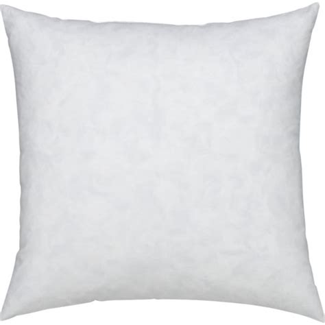 Pillow Insets by Feather 18 Quot Pillow Insert Crate And Barrel
