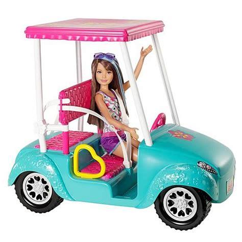 barbie toy cars barbie sisters golf cart car vehicle mattel barbie