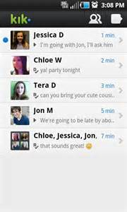 Kik messenger androidapplications com