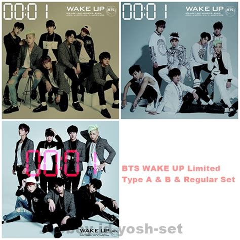 download mp3 bts wake up album bts bangtan boys wake up limited type a b regular edition