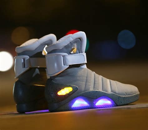 Magnum Light Speed High Boots Black 1 aliexpress buy boots back to the future led light shoes air mag style property usa