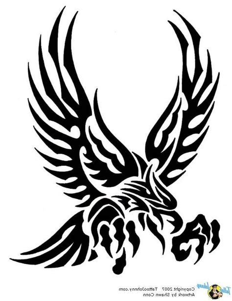 tribal eagle tattoo meaning eagle tribal meaning small tribal eagle