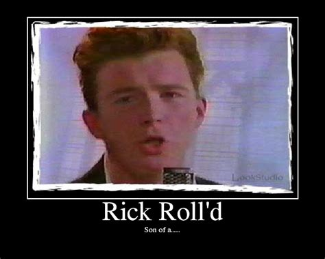 Rick Rolled Meme - rick astley images rick rolled wallpaper and background