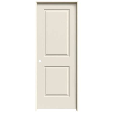 Lowes Reliabilt Interior Doors Shop Reliabilt Prehung Hollow 2 Panel Square Interior Door Common 24 In X 80 In Actual