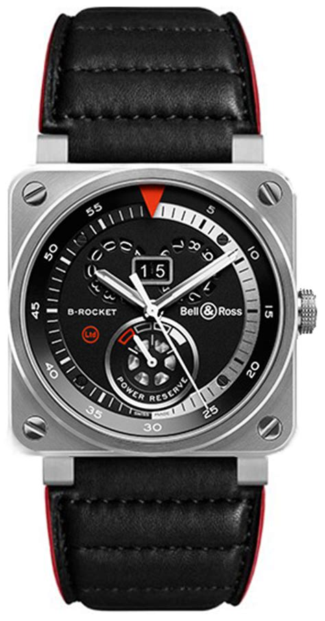 Bell Rocket Silver br0390 b rocket bell ross authenticwatches