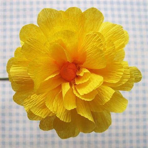 fiori di carta crespa istruzioni fare fiori di carta crespa fiori di carta fiori carta