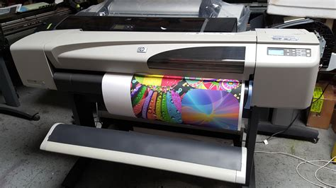 color plotter hp designjet 500ps color plotter 42 quot refurbished