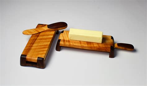 easy woodworking projects for gifts diy butter dish and spreader set wwgoa