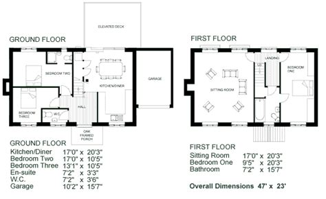Simple 2 Story House Plans Simple 2 Story House Floor Two Storey House Plan With Dimensions