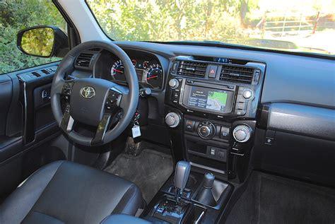 toyota 4runner 2016 interior 2016 toyota 4runner trail premium test drive review