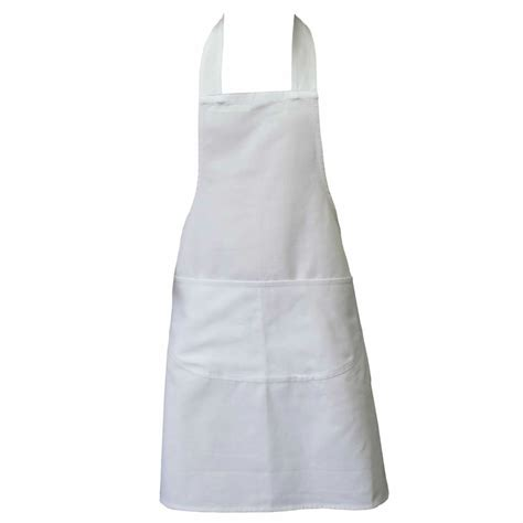 Chef Aprons White Apron Butchers Catering Cooking Professional Chef