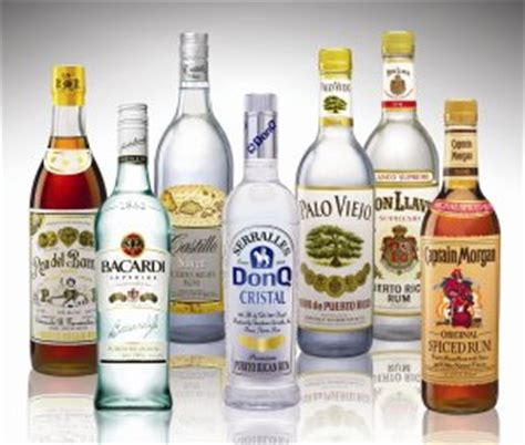 the top 5 brands of rum sold in the united states
