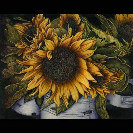 Dannis Sarimbit D Sun Flower 64 best paintings colored pencil images on