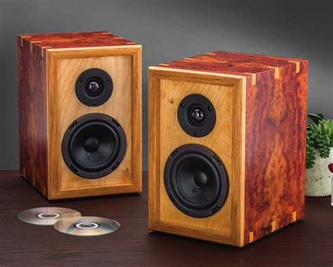Attractive Computer Speakers by The New Rockler Diy Speaker Kit Banish The Plywood