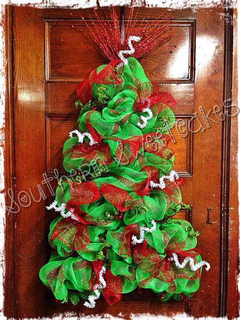 when to put deco wreath on christmas tree 69 best diy tree mesh images on crafts deco and