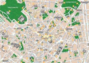 Milan Italy Map by Tourist Map Of Milan Italy