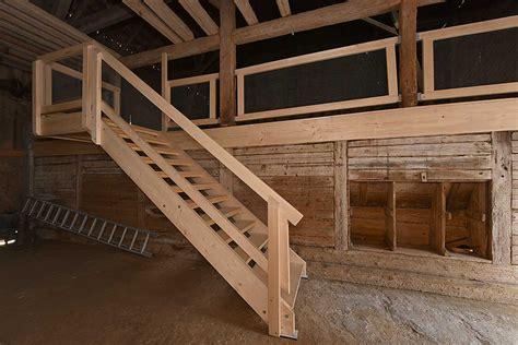 Scheune Treppe by Rundgang Scheune Stall