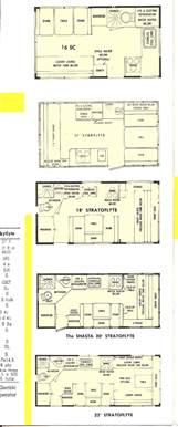 Shasta Rv Floor Plans 73 shasta camper models specs layouts brochure right