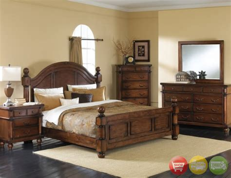 Jcpenney Dining Room Furniture king poster bed 6 pc bedroom furniture set distressed
