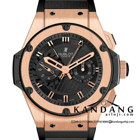 Jam Tangan Aigner A58513 48mm tali rubber hublot king power 48mm foudroyante gold murah kandangarloji jam