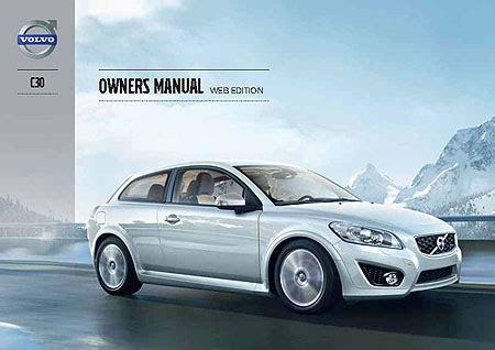 car owners manuals free downloads 2012 volvo c30 regenerative braking volvo c30 owners manuals