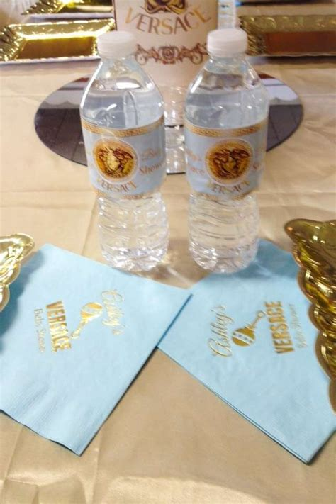 versace baby shower party ideas photo    catch