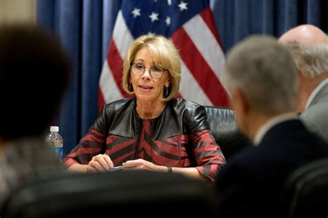 betsy devos in mississippi devos has scuttled more than 1 200 civil rights probes