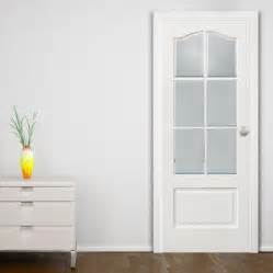 white glass panel interior doors ideas to provide more