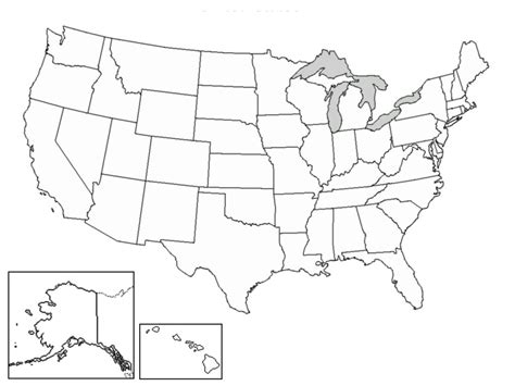 map of usa with states black and white valid us map states black and white geography outline