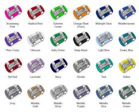 braces color 25 best ideas about braces colors on nail