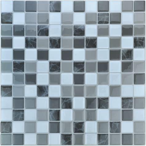 smart mosaic 11 2 x 12in peel and stick backsplash 10 pcs