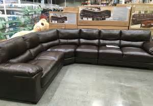 Leather Sectional Sofa Costco Marks Cohen Colton Leather Sectional Costco Weekender